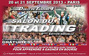 Paris Trading Show 2013